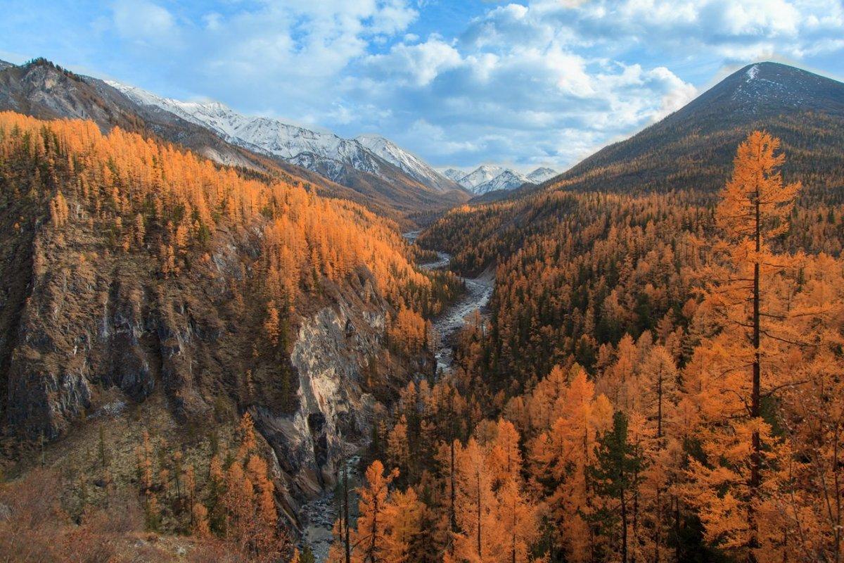 Юг Средней Сибири